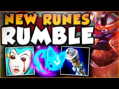 Download Youtube: YOU WON'T BELIEVE HOW BROKEN RUMBLE REALLY IS! NEW RUMBLE SEASON 8 TOP GAMEPLAY! - League of Legends