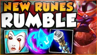 YOU WON'T BELIEVE HOW BROKEN RUMBLE REALLY IS! NEW RUMBLE SEASON 8 TOP GAMEPLAY! - League of Legends