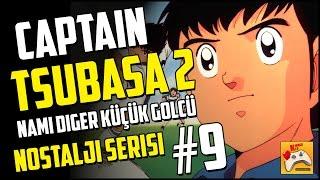 captain tsubasa 2 9 makoto soda dan kamisori shoot trke oynanış