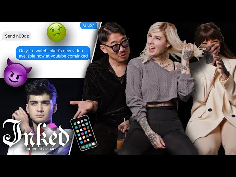 'What Does Zayn Malik Smell Like?' The Weirdest DMs Tattooers Get   Tattoo Artists React