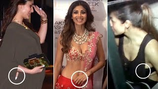 Bollywood Star Wives OOPS MOMENT | Kareena Kapoor Khan, Shilpa Shetty & MORE