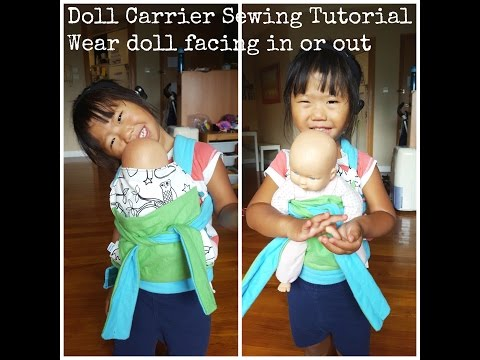doll baby carrier tutorial
