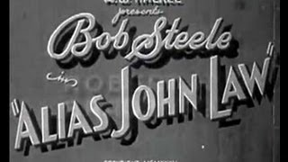 Alias John Law - Full Western Movie