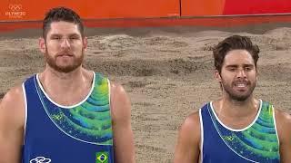 Beach volleyball Final Brazil x Italy Rio 2016