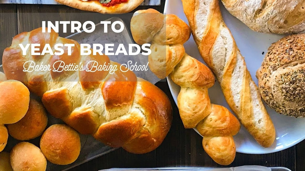 Intro to Yeast Bread (how yeast works, dry yeast, active ...