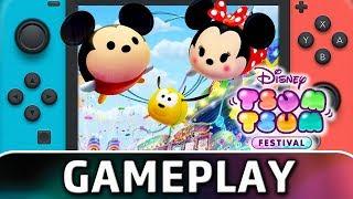 Video Disney Tsum Tsum Festival | 20 Minutes of Gameplay on Switch download MP3, 3GP, MP4, WEBM, AVI, FLV Oktober 2019