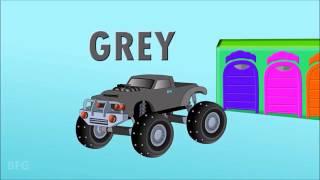 Развивающий Мультик Английский язык для детей Учим цвета вместе с машинками English for children