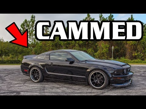 NASTY CAMMED Mustang GT BBR Stage 1 NSR Cams | No Ghost Cam HERE