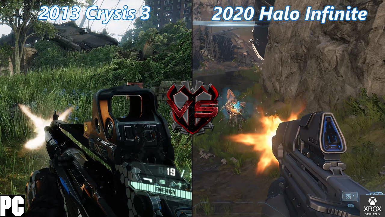 Halo Infinite 2020 VS Crysis 3 2013 Graphics Comparison - YouTube