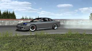 rFactor Project D New S15 Test