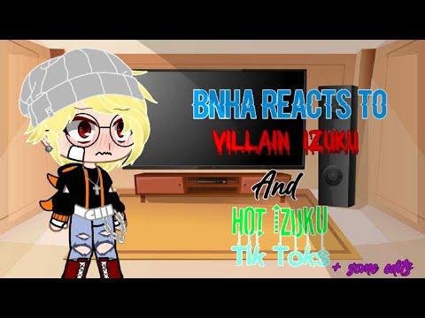 []Bnha Reacts To Villain Izuku And Hot Izuku Tik Toks(+some Edits)[]Dekubowl[]Tiktoks In Desc.[]