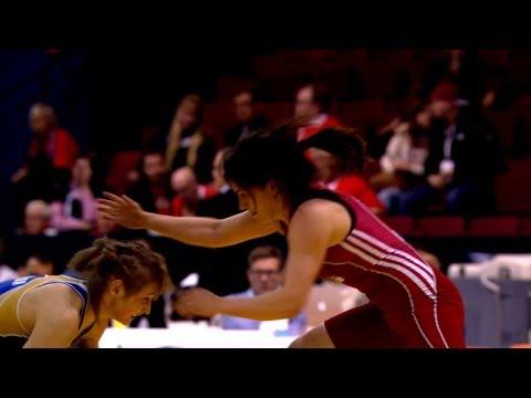 48Kg Bronze 2 - Women Wrestling -  European Championships 2014