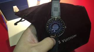 LOUIS VUITTON Tambour Horizon智能腕錶開箱(中文字幕)