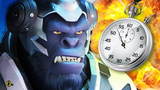 WINSTON IN A MINUTE! Overwatch Winston 1-Minute Guide | Overwatch Hero Review