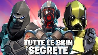 TODAS as SKINS FORTNITE SECRET (temporada 4-8) ⛏️ Crazyx