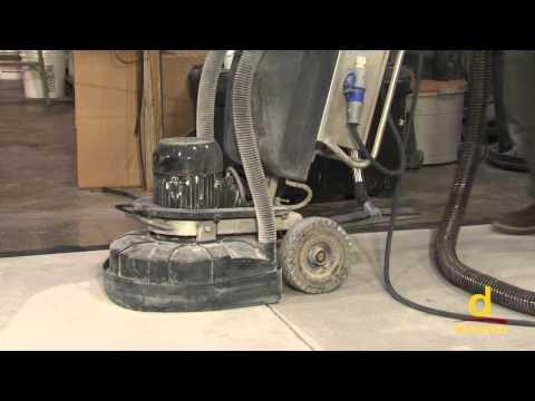 Concrete Surface Preparation Using Diamond Grinding Machine