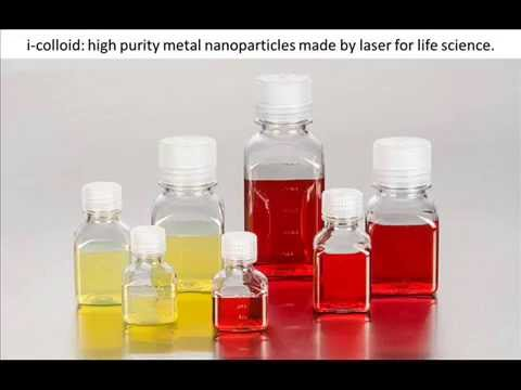 Gold Nanoparticles Made by Laser (i-colloid)