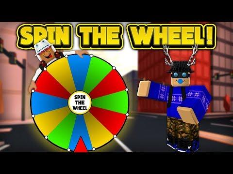 SPIN THE WHEEL IN JAILBREAK! (ROBLOX Jailbreak)