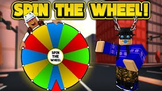 SPIN THE WHEEL IN JAILBREAK! (ROBLOX Jailbreak)
