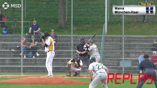 Baseball Bundesliga FULL GAME: Mainz Athletics 5, München-Haar Disciples 2