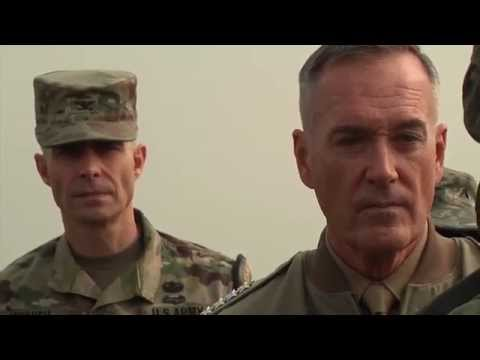 Top U.S General Dunford at North Korean Border (Joint Security Area)