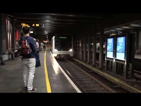Oslo, Norway - Oslo Tunnelbane (T-banen, Metro) HD (2013)