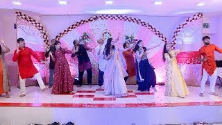 Best friends Bollywood dance performance in engagement - Best Sangeet Performance