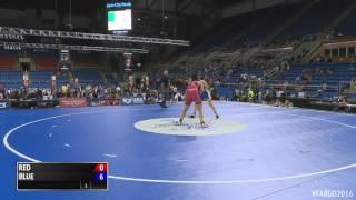 154 lbs. s, Hannah Ramos, WI vs. Olivia Rondeau, MD