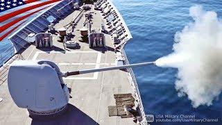 タイコンデロガ級ミサイル巡洋艦の5インチ砲