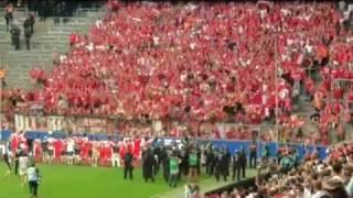 Relegation 2017 - 1860 München gegen Jahn Regensburg - Impressionen der beiden Fanlager