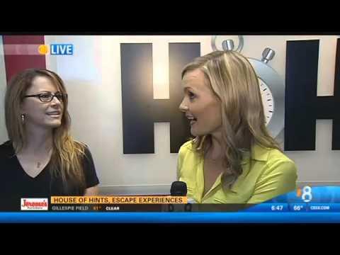 House of Hints, escape experiences   CBS News 8   San Diego,