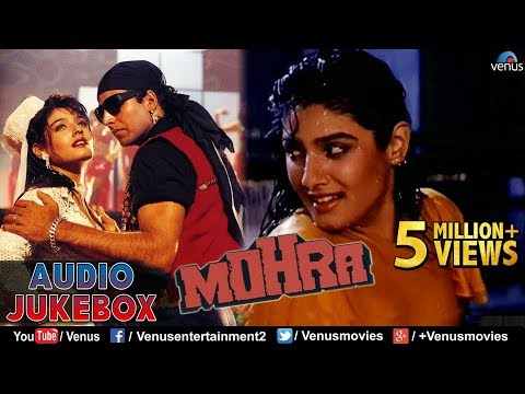 Mohra  Blockbuster Hindi Songs  Akshay Kumar, Sunil Shetty, Raveena  JUKEBOX  Best Romantic Hits