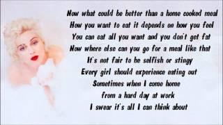 Madonna - Where Life Begins Karaoke / Instrumental with lyrics on screen
