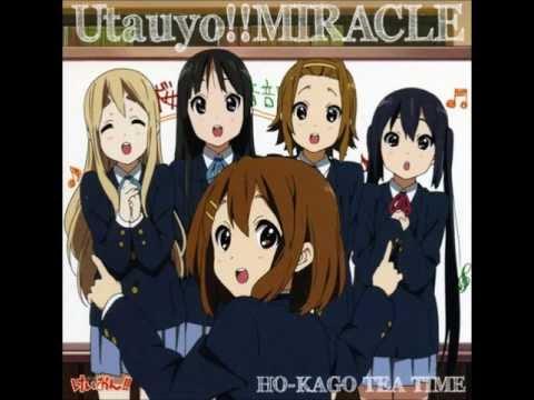 K-ON! Utauyo! MIRACLE(2nd Opening Theme)