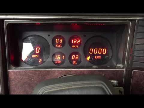 Intellitronix Digital dash in a 1983 Chevy Malibu G body wagon pt.2