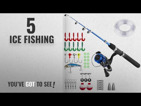 Top 10 Ice Fishing [2018]: Kids Fishing Pole,Light And Portable Telescopic Fishing Rod For Youth