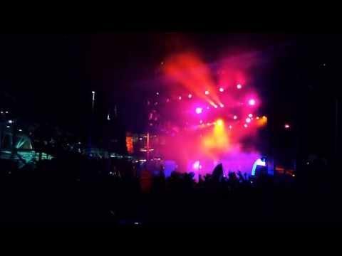 Major Lazer - Lean On - Live @ Mad Decent Block Party, San Diego 09/13/15