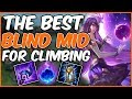 THE BEST MID TO BLIND PICK TO CLIMB! CHALLENGER SYNDRA - League of Legends