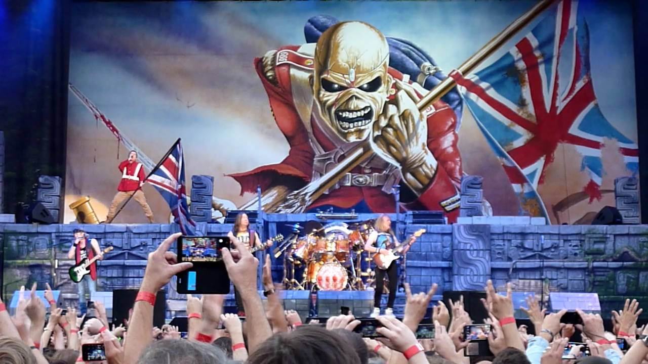 Iron Maiden The Trooper Praha