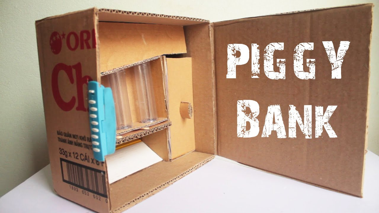 How to make an secret piggy bank at home 3 teaser clip for How to make a coin bank