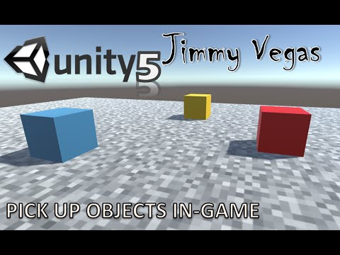 Mini Unity Tutorial - Pick Up & Place Objects - Beginners