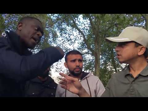 Bearing Sins! Mansur Vs Christian   Old Is Gold   Speakers Corner   Hyde Park