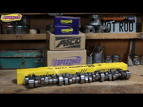 Speedway Tech Talk  - Basics of Choosing the Right Camshaft