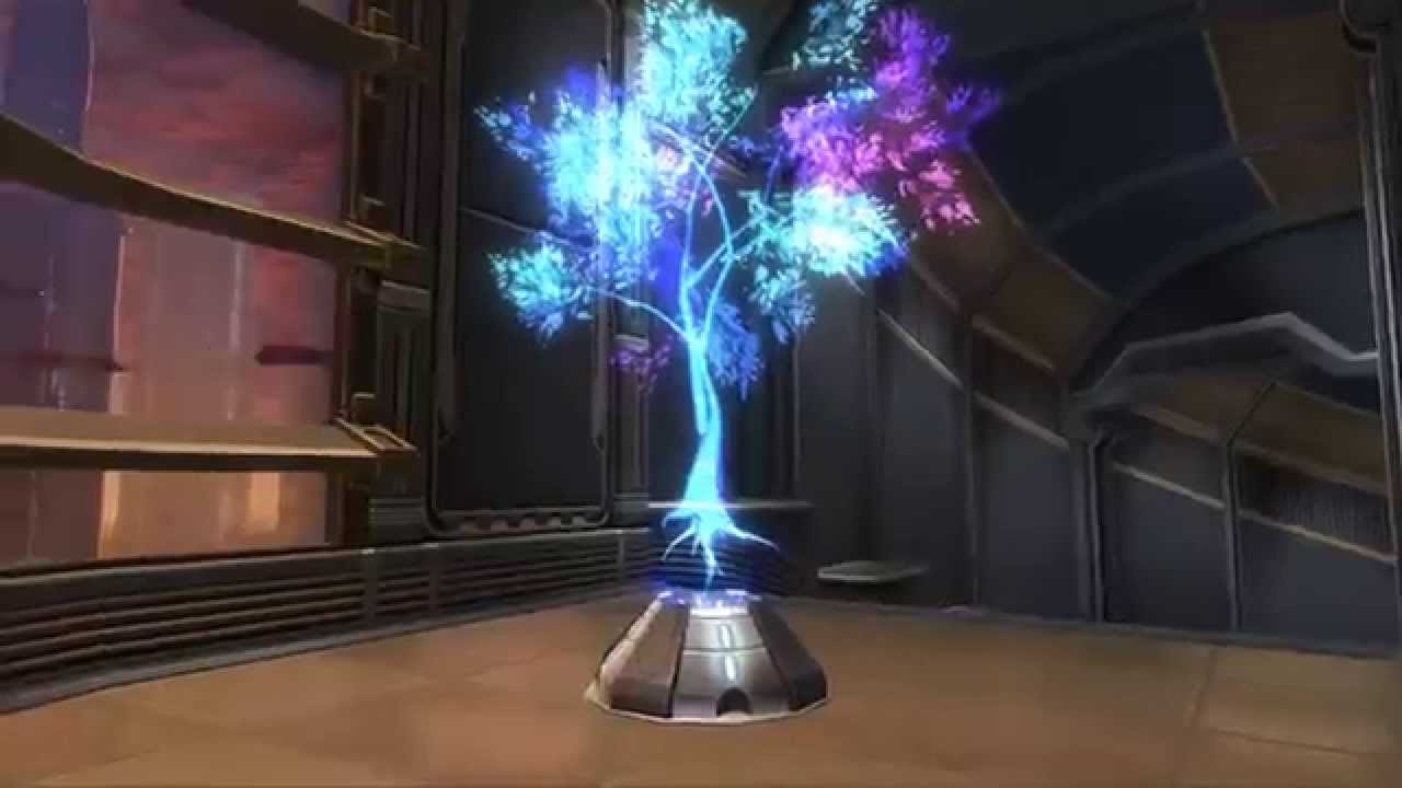 Holographic Tree (Blue) Decoration - Gatekeeper's Stronghold Pack ...
