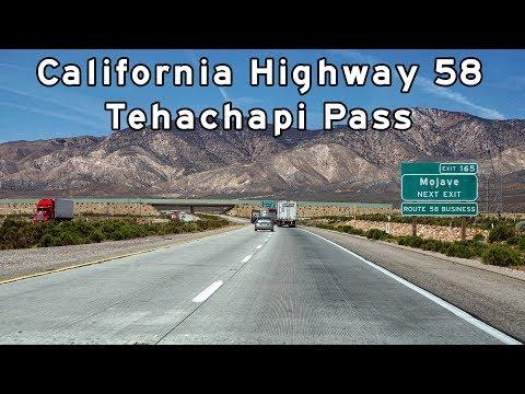 2017/04/15 - California Highway 58 - Tehachapi Pass - Version 2