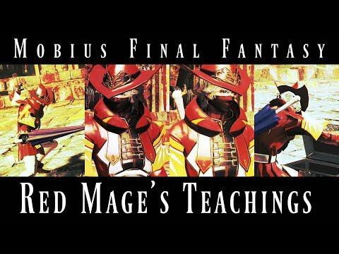 Mobius Final Fantasy: HoF2 - Red Mage's Teachings