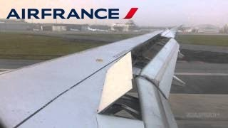 Landing at Birmingham Airport, Air France Airbus A319-100