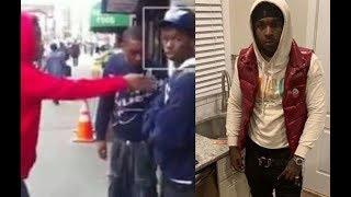 Crip Rapper Pop Smoke Meet The Woo Caught Lackin By Bloods In Flatbush..DA PRODUCT DVD