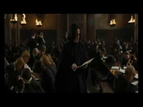 Snape Alan Rickman  Something Stupid