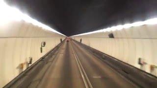 [公路表現] KMB九巴 Dennis Dragon 11m A/C (2+2 seats) HB9217 跑獅子山隧道公路(田家炳學校→獅子山隧道)